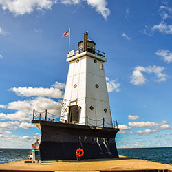 North Breakwater Light
